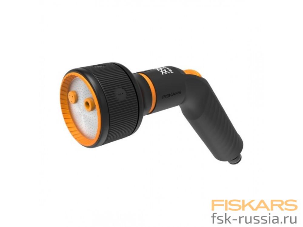 Штанга-распылитель Fiskars регулируемая насадка +Пистолет-распылитель регулируемый с 3 функциями Fiskars FiberComp™
