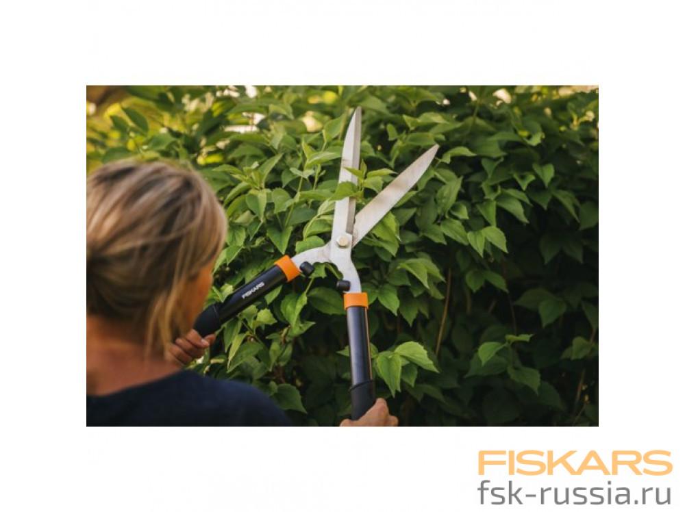 Ножницы для живой изгороди Fiskars Solid HS21