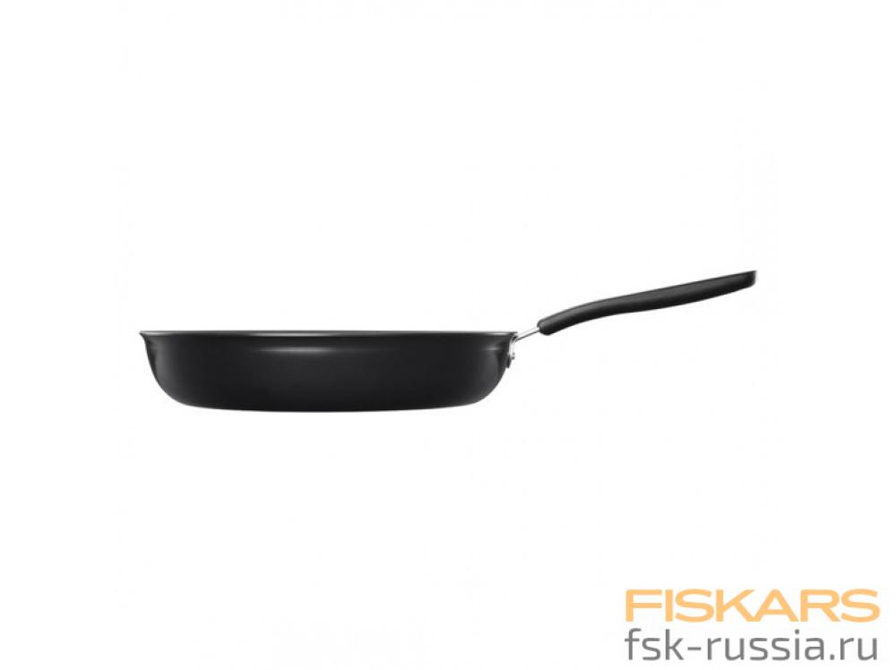 Сковорода Fiskars 28 см Functional Form + Дуршлаг Functional Form в подарок!